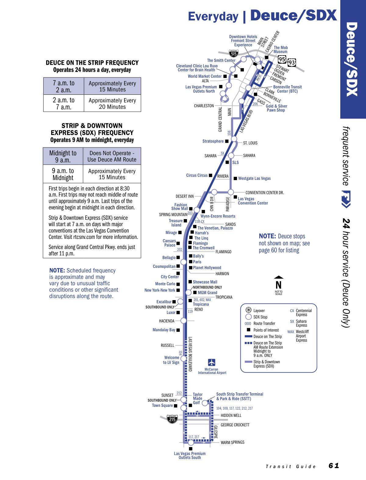 Sdx Transit Map Las Vegas Las Vegas Map Transit Map Vegas Baby
