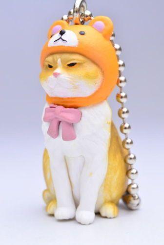 Bandai-Gashapon-Anicolla-Series-BUNEKO-Part1-Cat-Swing-Mascot-Kuma-Bear-Figure