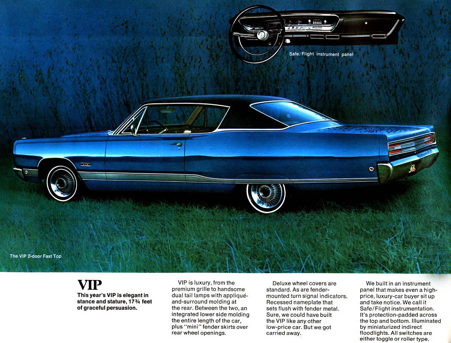 1968 Plymouth Fury VIP Two Door Hardtop | Plymouth: 1967 & 1968 ...