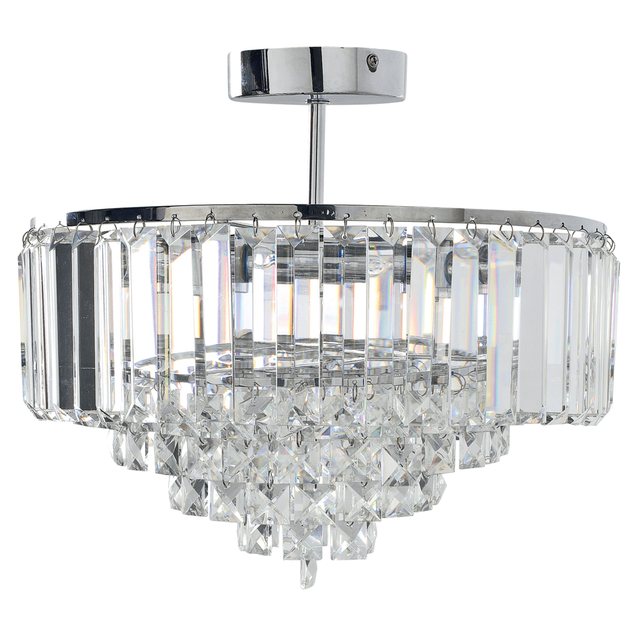 Vienna Crystal and Chrome Pendant Light Lamps Pinterest Laura ashley and Pendant lighting