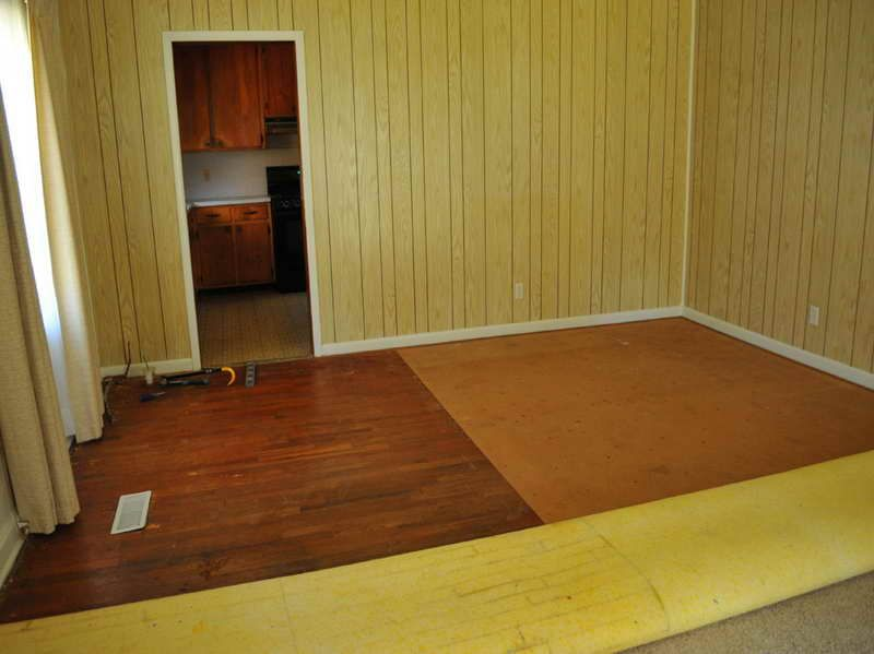 painted paneling | Done but diy project 1970s dark | Painted ...