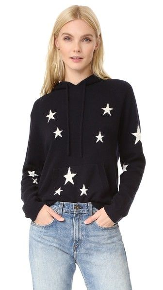 Chinti and Parker Star Cashmere Hoodie 16e635ca5