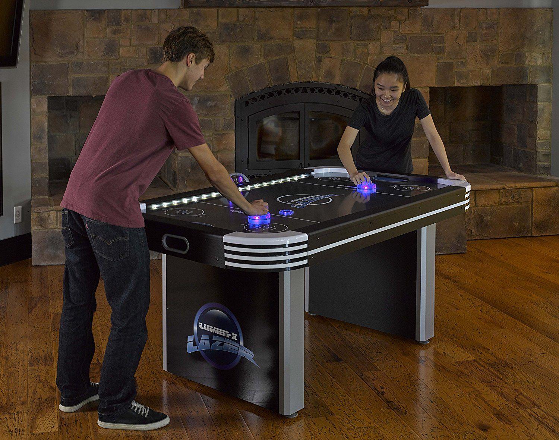 Triumph Lumen X Lazer 6u0027 Air Hockey Table : Sports U0026 Outdoors