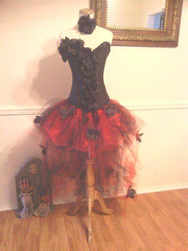 5ea70e76c410c Day of the dead costume, custom size, halloween costume women, sexy ...