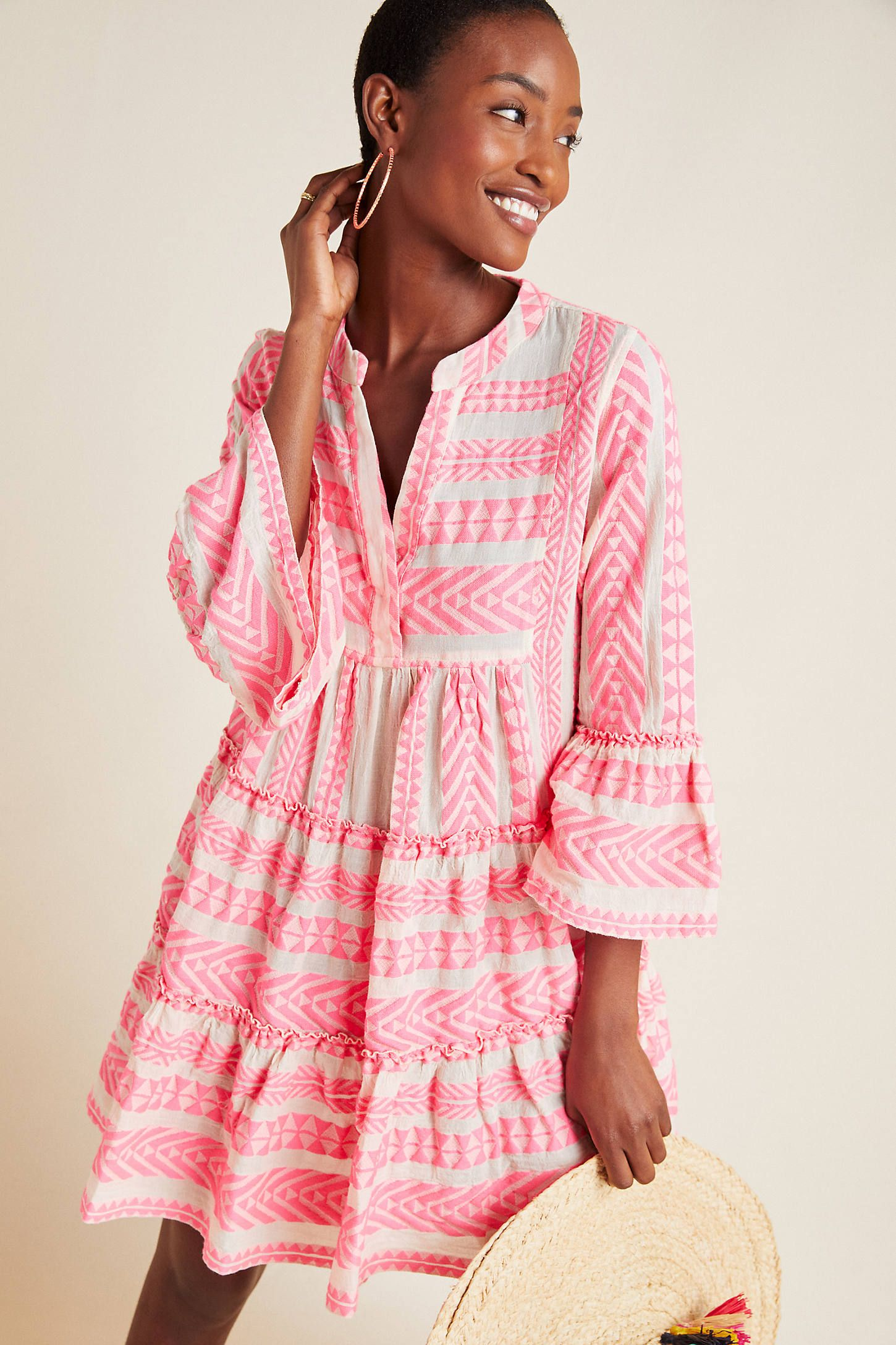 Petra Tiered Tunic Dress