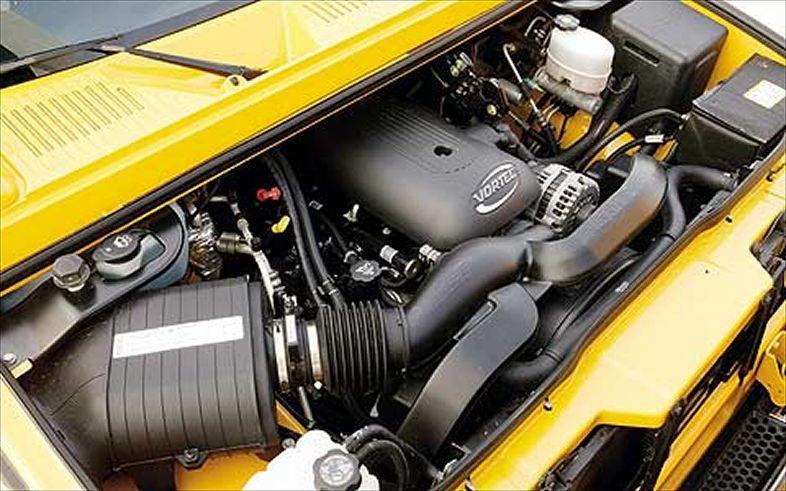 Engine 2009 Hummer H2