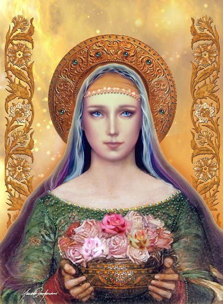 Our Lady of roses... pray for us!