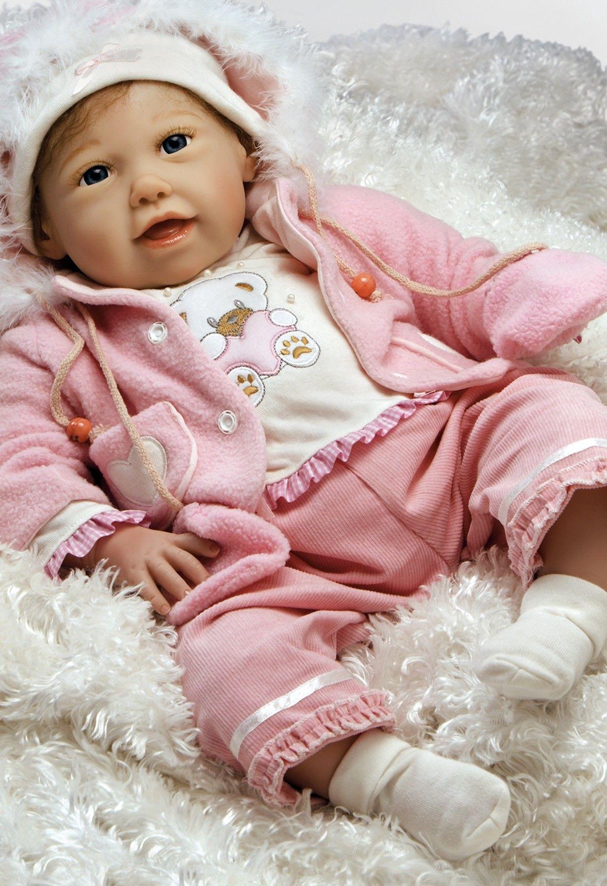 25e8b57c1c2a Realistic Baby Doll - Cuddle Bear Bella