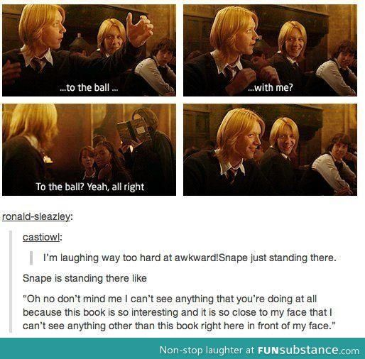 Yeah Sure Just Pretend I M Not Here Funsubstance Harry Potter Universal Harry Potter Obsession Harry Potter Funny