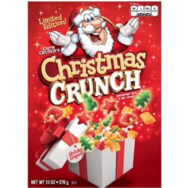 Cap'N Crunch Christmas Crunch 2020 I'm learning all about Cap'n Crunch's Christmas Crunch Cereal