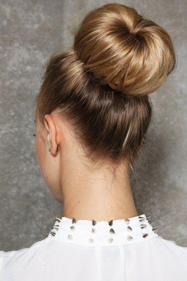 Blonde Top Knot Bun Ring Hair With Flair Top Knot Bun Bridal Hair Inspiration