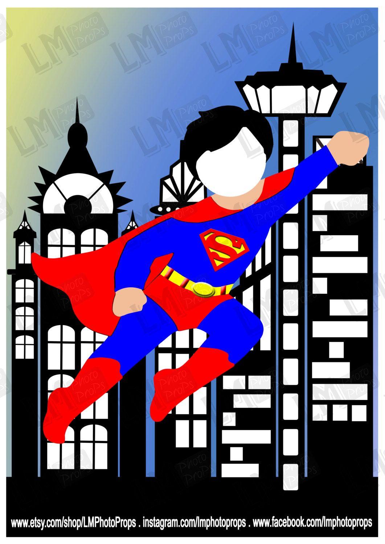 Super Boy Style Photo Prop