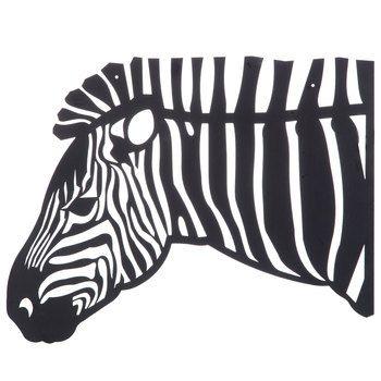 Zebra Head Metal Wall Decor | crafts | Pinterest | Metal walls, Wall ...
