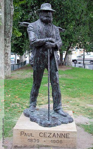 Image result for Paul Cezanne statue Aix en Provence