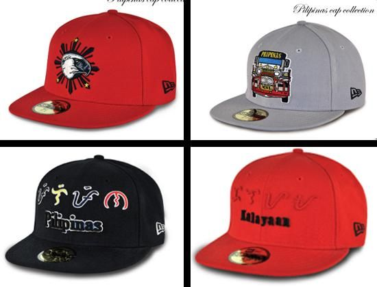 32a0d28d Pilipinas Cap Collection 1 59Fifty Fitted Baseball Caps by NEW ERA ...