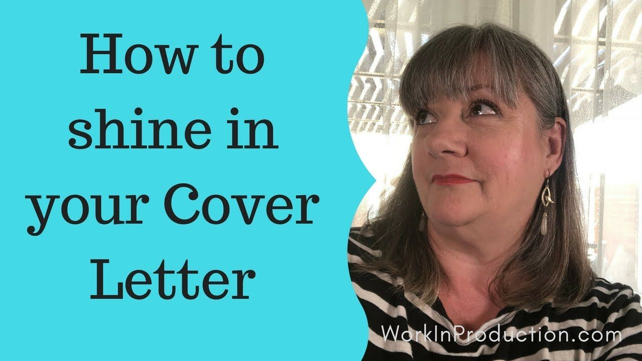 Know what to write in your cover letter Great cover