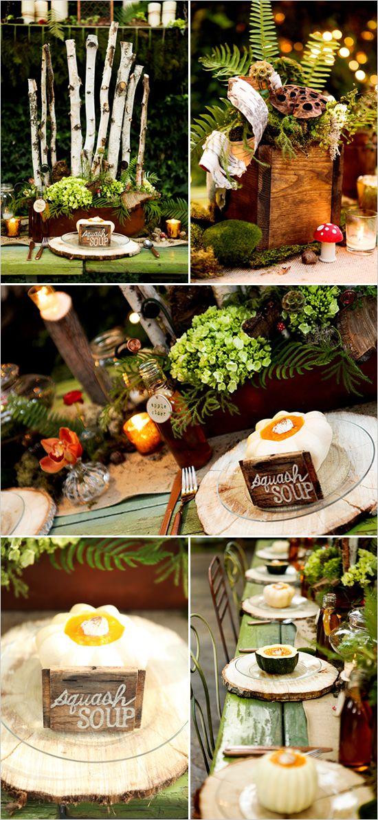 Woodland wedding decorations woodland wedding decoration and weddings junglespirit Images