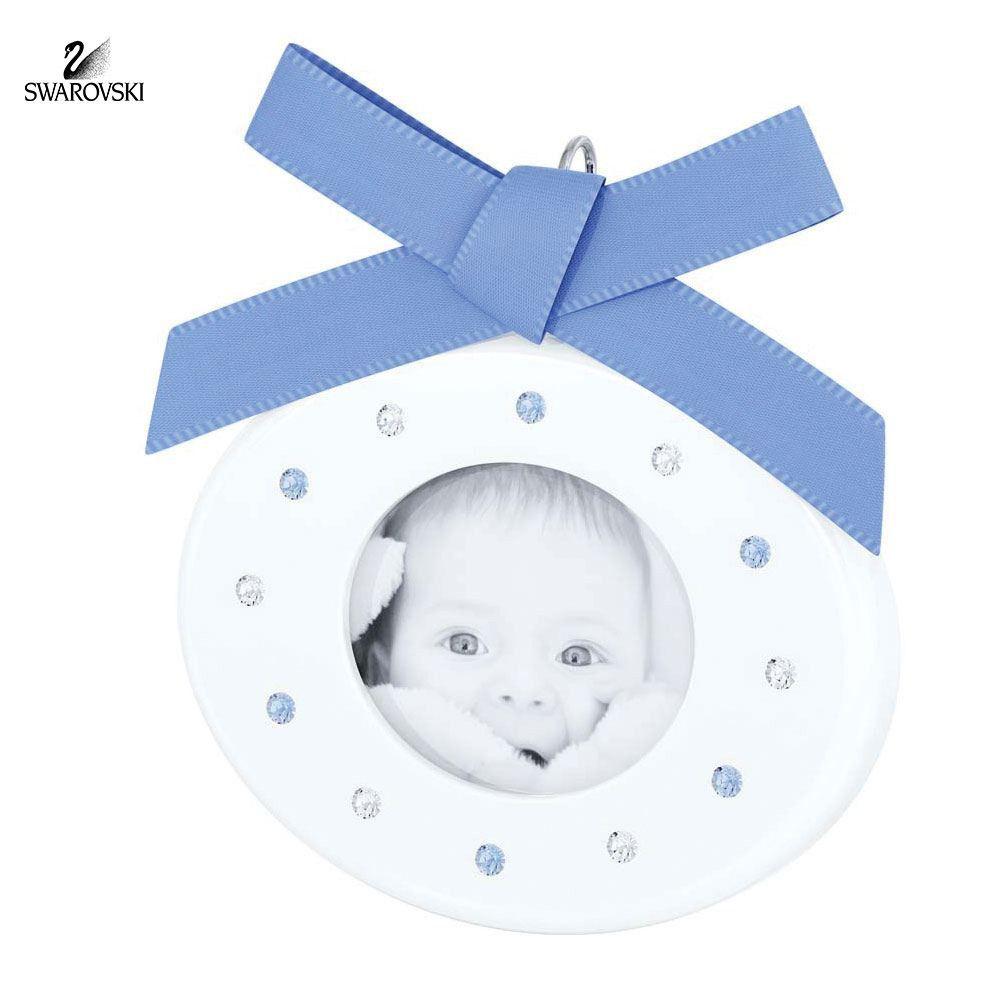 Swarovski crystal baby picture frame baby boy blue 5049485 baby swarovski crystal baby picture frame baby boy blue 5049485 jeuxipadfo Images