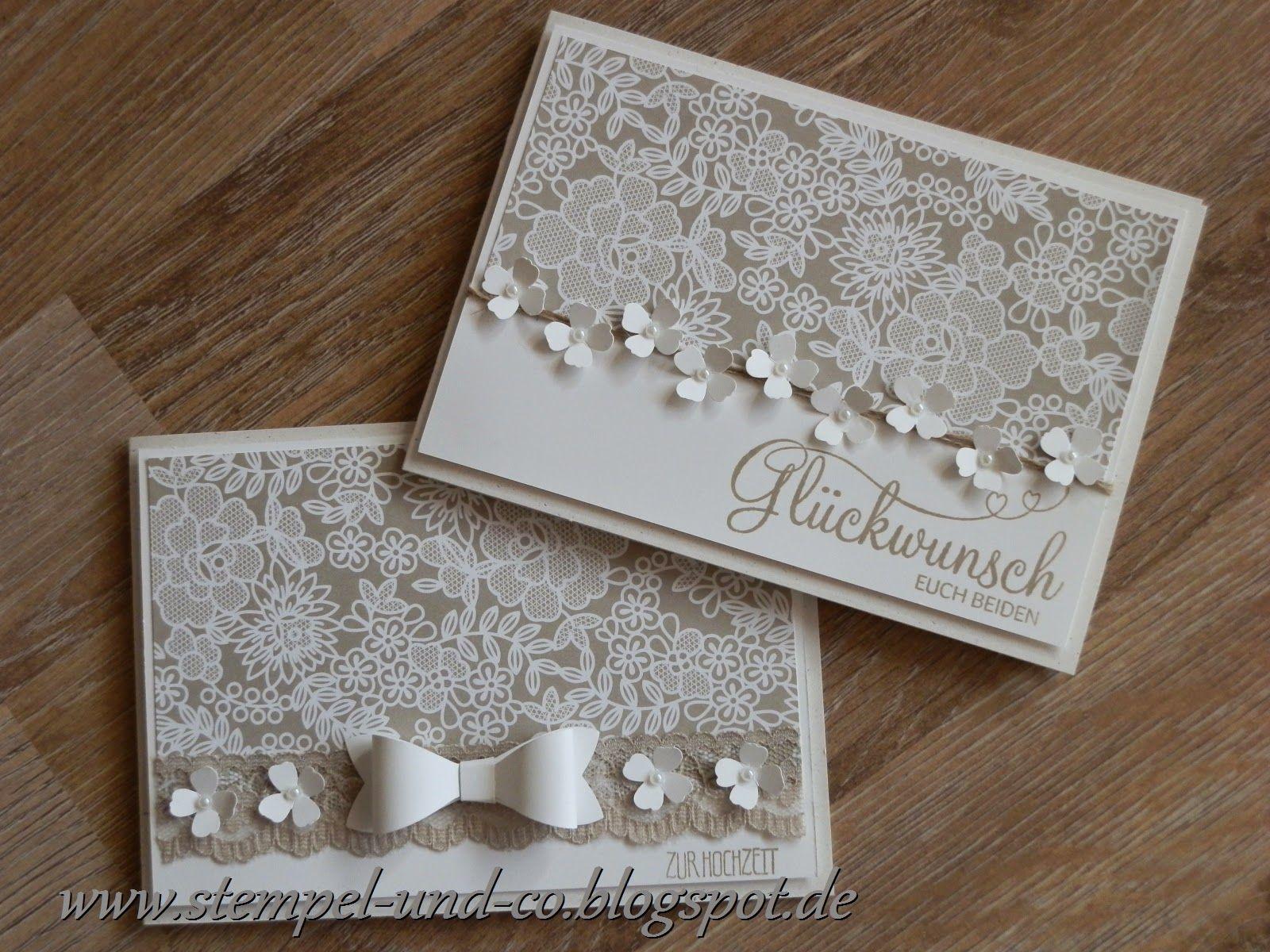 Hochzeitskarten Papiertraume Stempelliebe Anniversary Cards