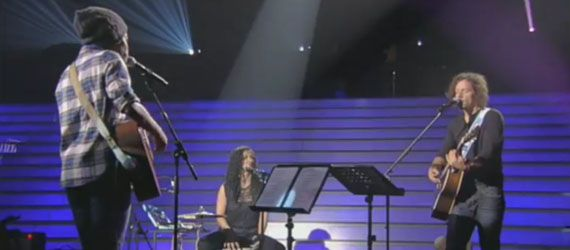 Irma et Jason Mraz en duo dans Taratata