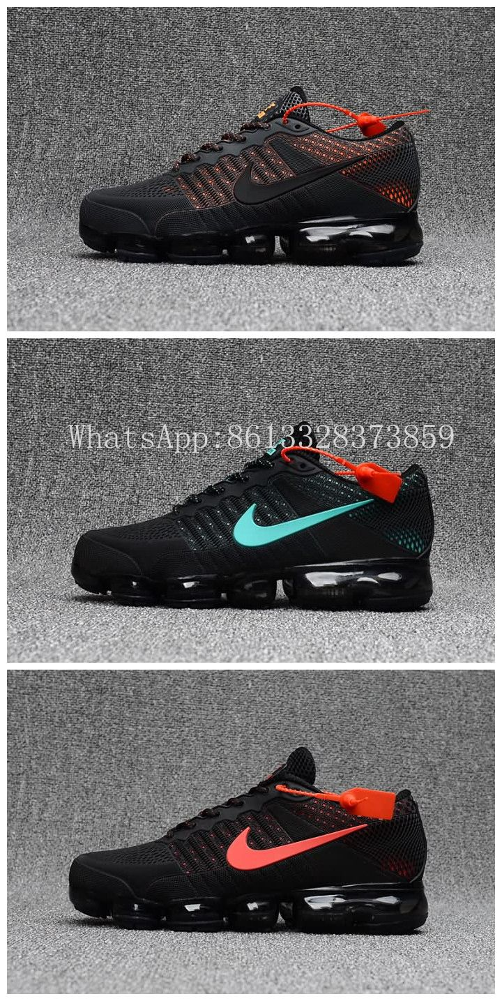 Nike Air VaporMax Flyknit KPU 2018 Men Black Jade & Orange shoes Free Shipping size:40-47,WhatsApp:8613328373859 Nike Vapormax Flyknit, Baskets, Shoes Sneakers, Nike Shoes, Fresh Shoes, Nike Basketball Shoes, Orange Shoes, School Shoes, Nike Air Vapormax