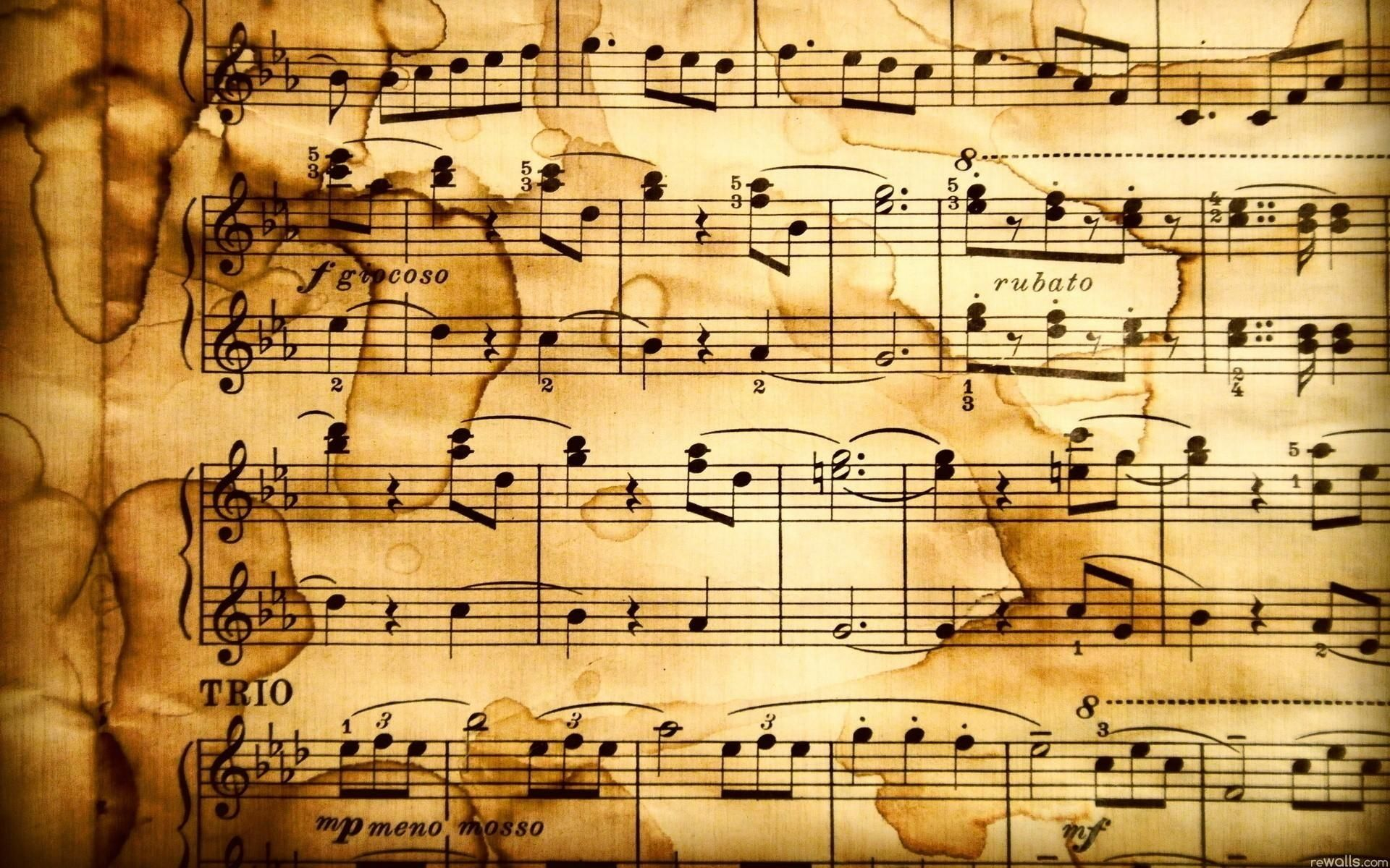 10 Top Music Note Wallpaper Hd Full Hd 1080p For Pc: 10 Top Old Sheet Music Wallpaper FULL HD 1080p For PC