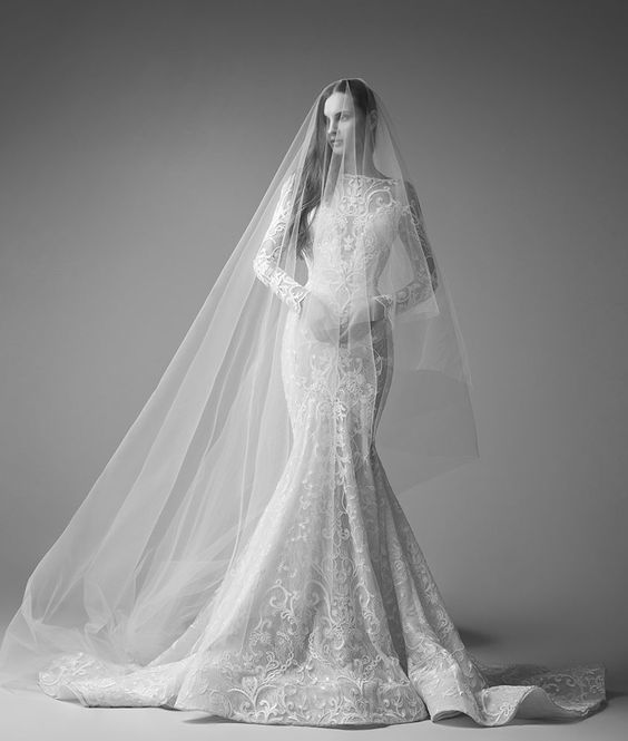 Featured Wedding Dress: Saiid Kobeisy; www.saiid-kobeisy.com; Wedding dress idea.