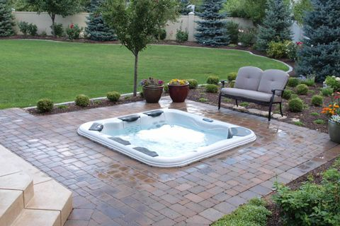 Kit Jacuzzi.Spavault In Ground Hot Tub Installation Kit Backyard In 2019 Hot