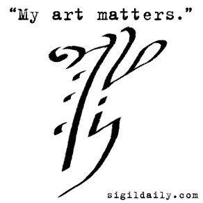Sigil-MyArtMatters | Inked!! | Sigil magic, Magic symbols, Witchcraft