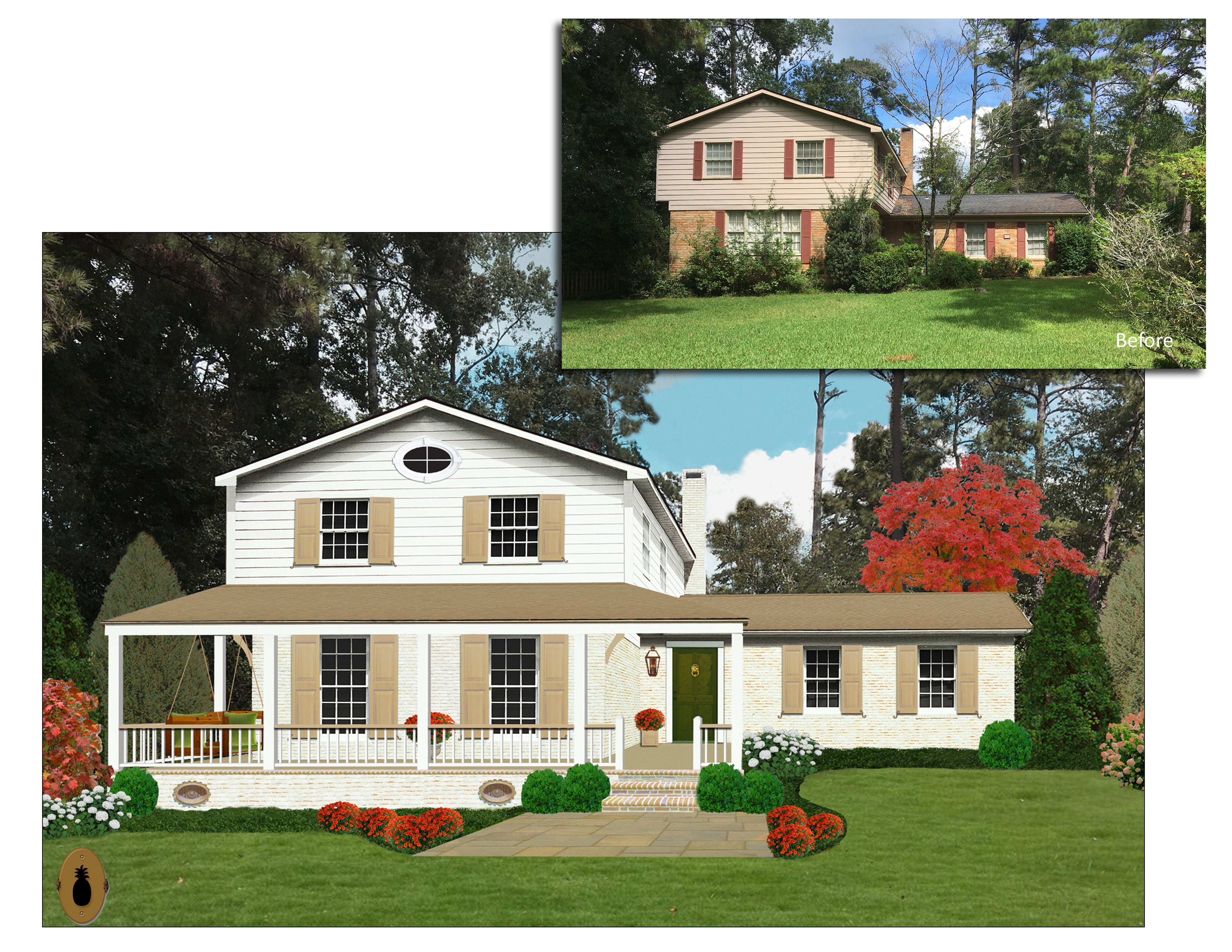 Great Split Level Ranch Renovation Ideas From One Pineapple Lane