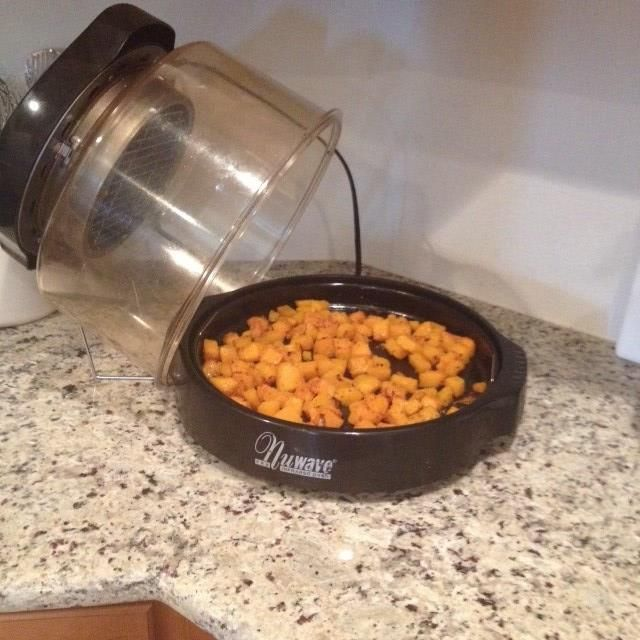 Did You Know That You Can Roast Butternut Squash Using The Nuwave