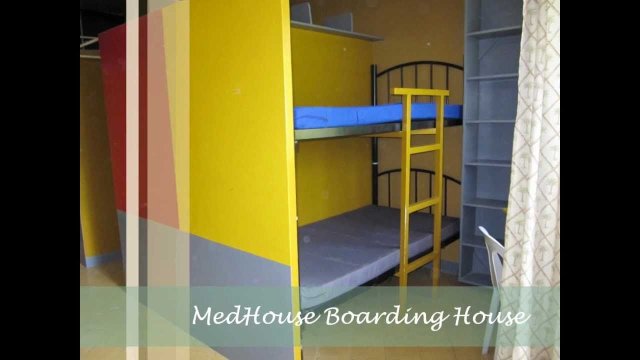 Low ceiling loft bed with desk  Boarding house philippines design  House plans and ideas