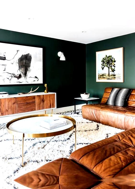 Grön inredningsinspiration