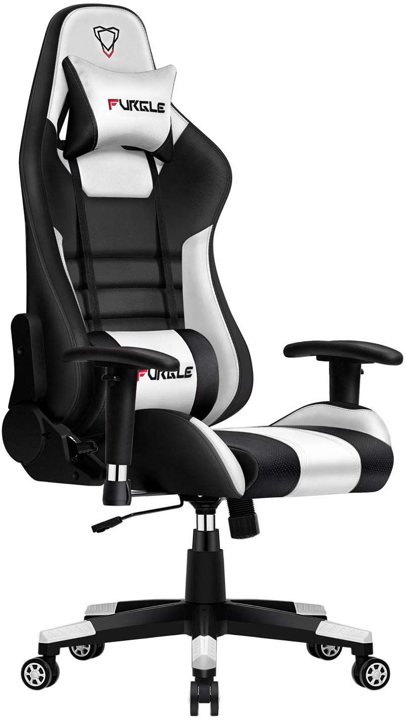 Furgle gaming chair racing style office chair highback w