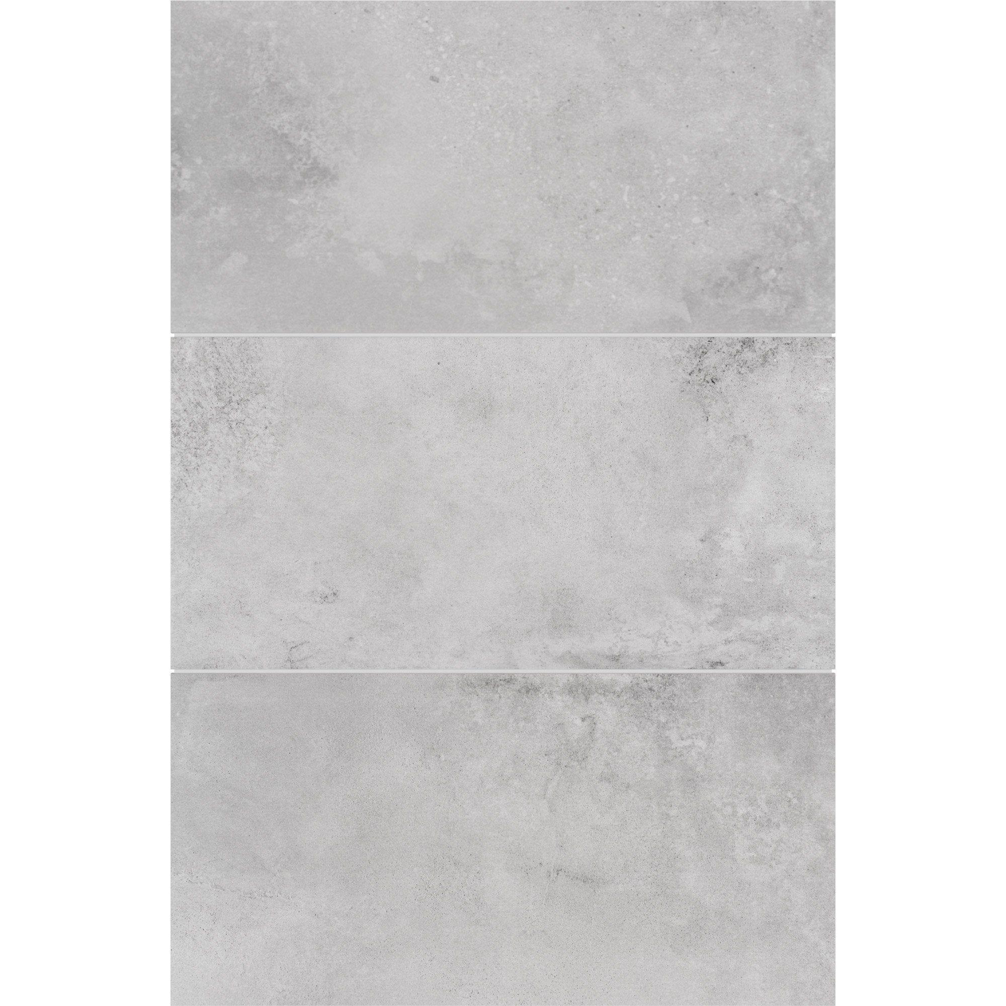 Carrelage Mur Beton Gris Clair Mat L 50 X L 0 95 Cm Helio Stn Ceramica Texture Carrelage Gris Clair Carrelage Gris Clair