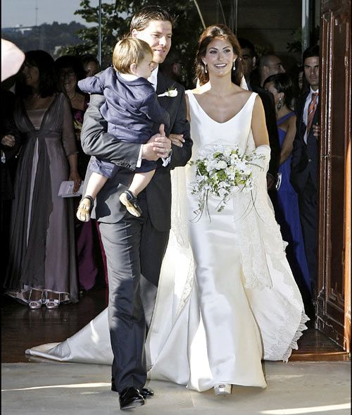 Xabi Alonso Wedding Nagore Aranburu and Xa...