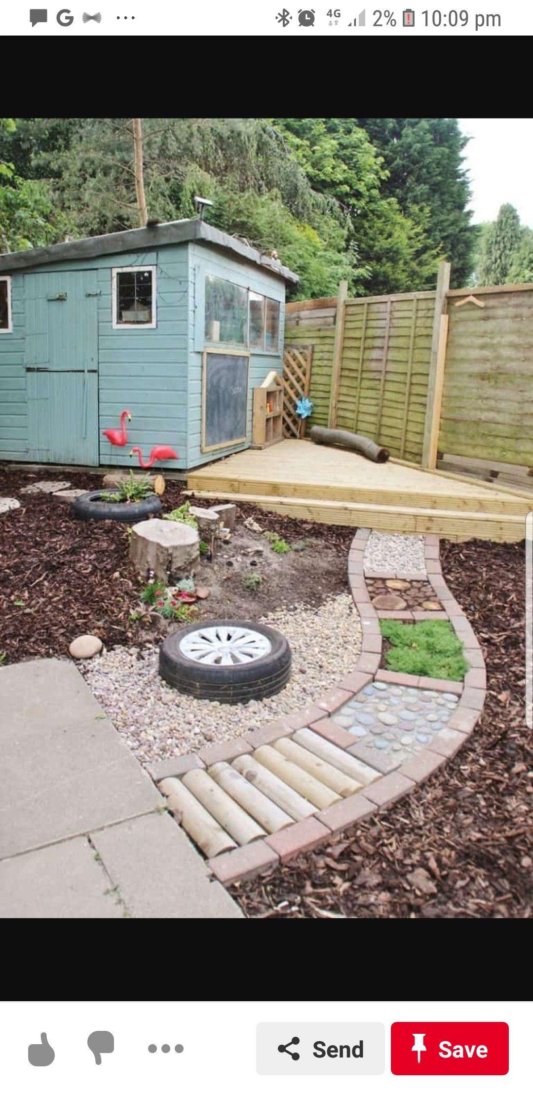 Pin by Janet conrad on luke | Backyard play, Small ...