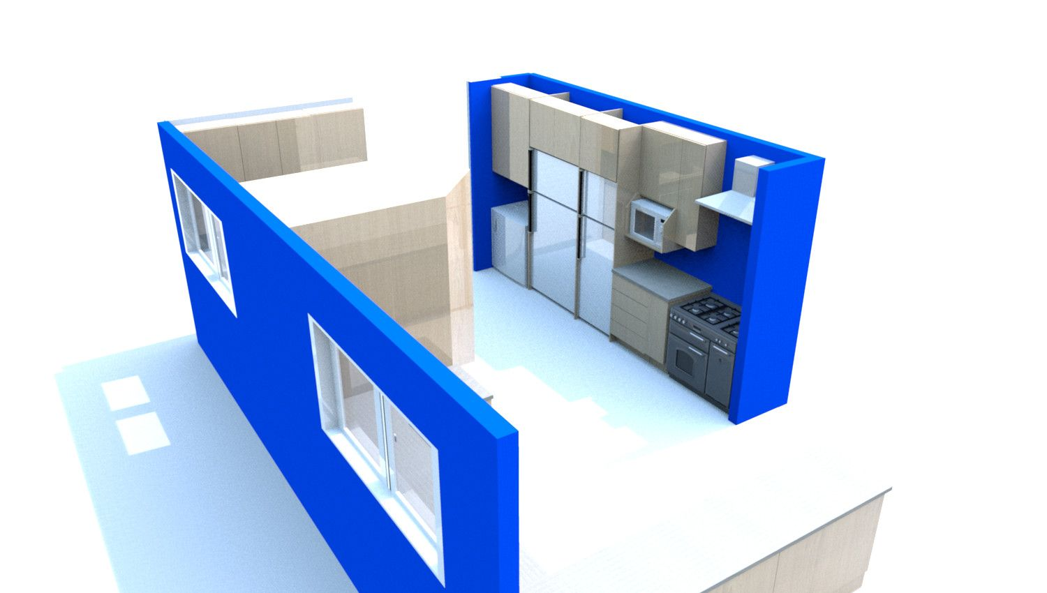Kitchen Design in Pretoria, You get to see what your kitchen will look like along with your free quote, http://pretoria-kitchens.co.za