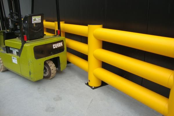 Warehouse safety barriers https://www.boplan.com/en/health-safety-flexible-warehouse-safety-barriers