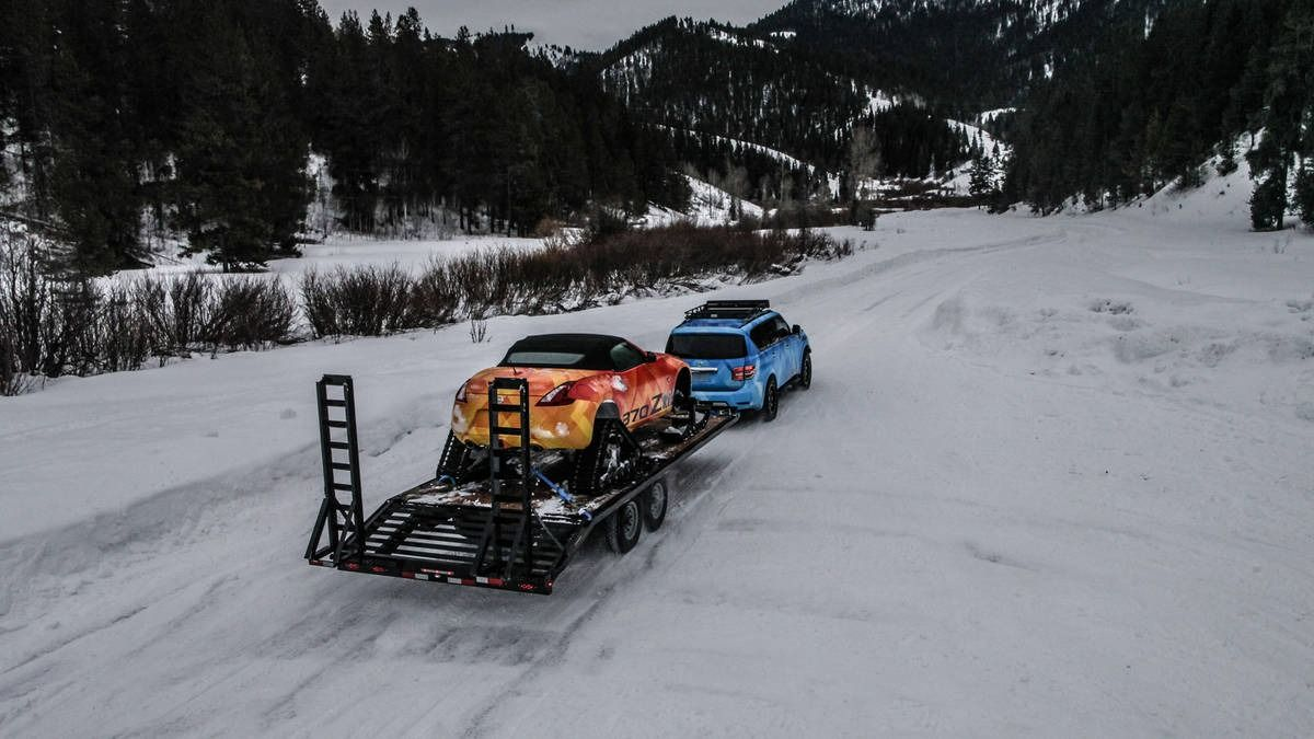 Nissan's Snow Patrol Armada debuts ahead of the Chicago