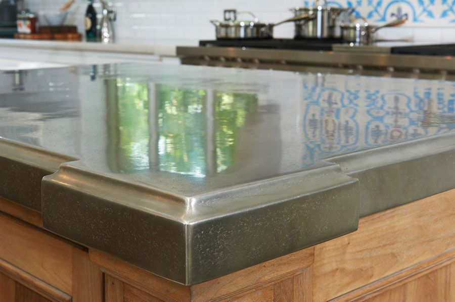 trends metal design kitchen and pin pewter countertops trend interior