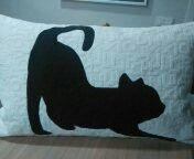 Cojín gato para Clara