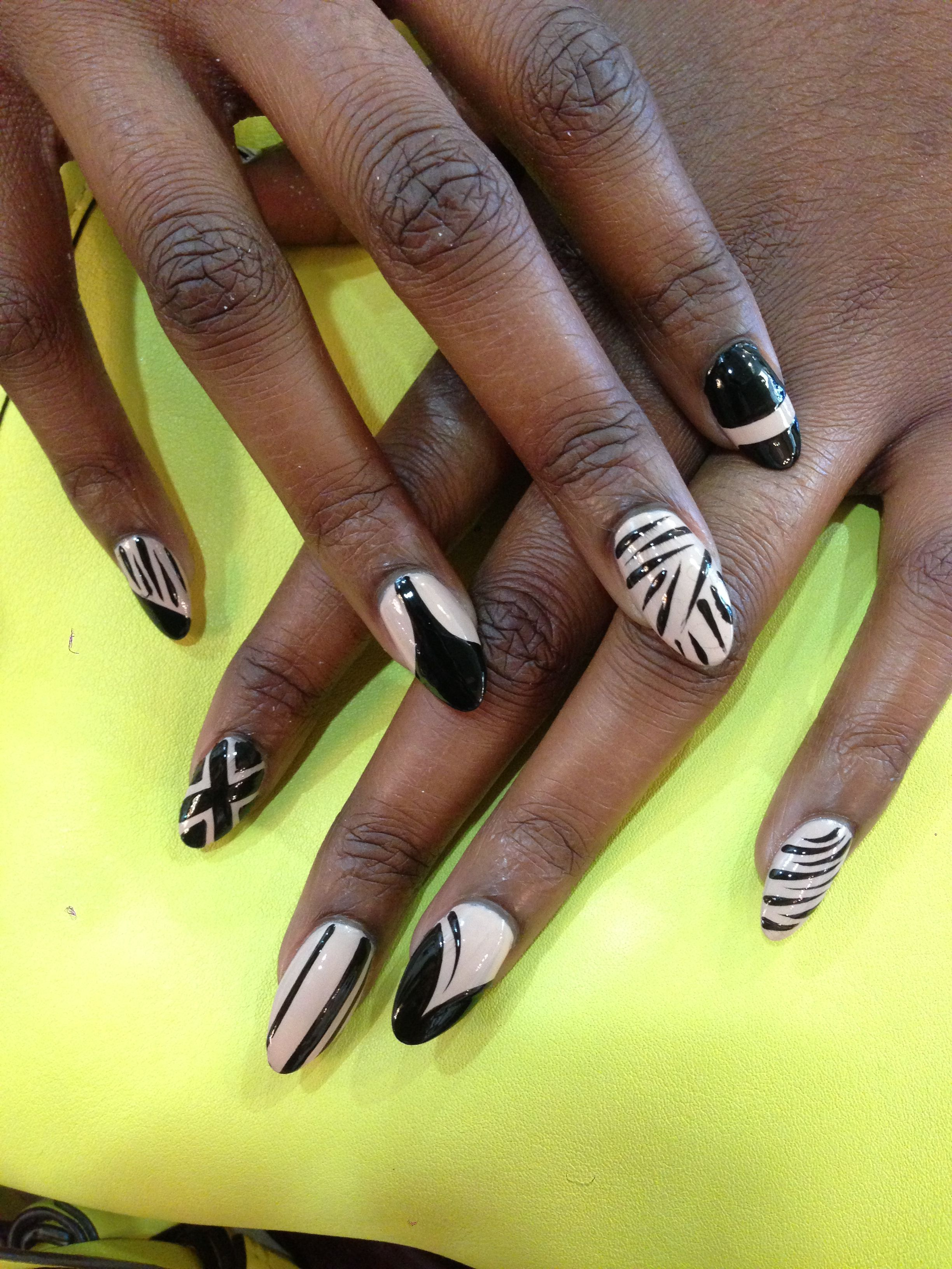 The Best Abstract Nail Art To See Before Your Next Salon Trip In