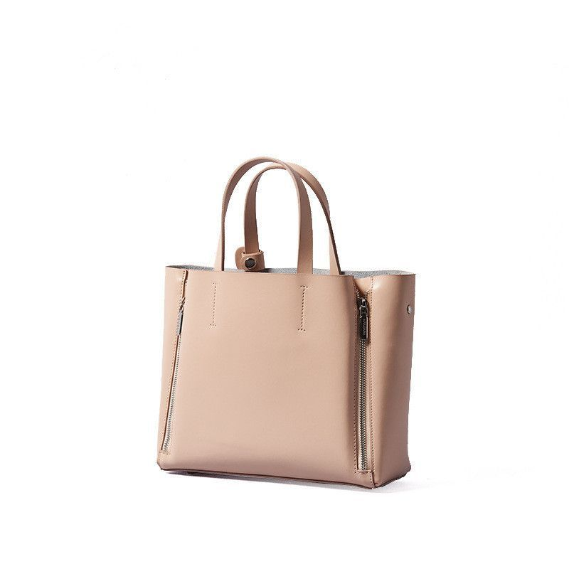 Leather ladies handbag Causal shoulder bag for women