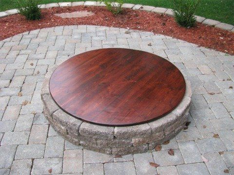 Fire Pit Cover Rustic Fire Pits Wood Fire Pit Modern Fire Pit
