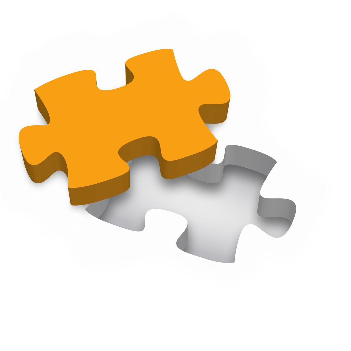 Ein Puzzleteil
