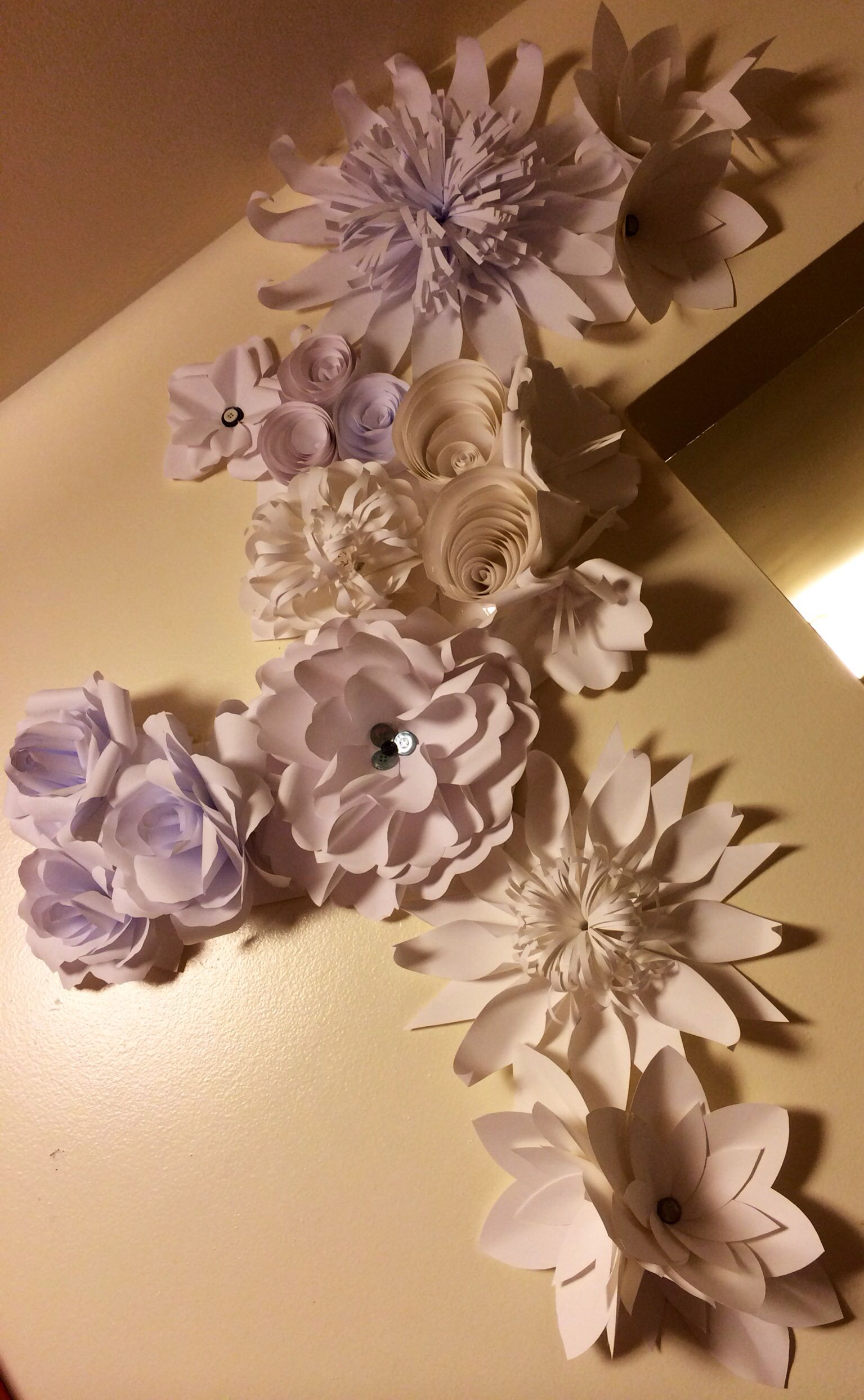 Giant Paper Flowersd Flowers And Flowers The Perfect Thing