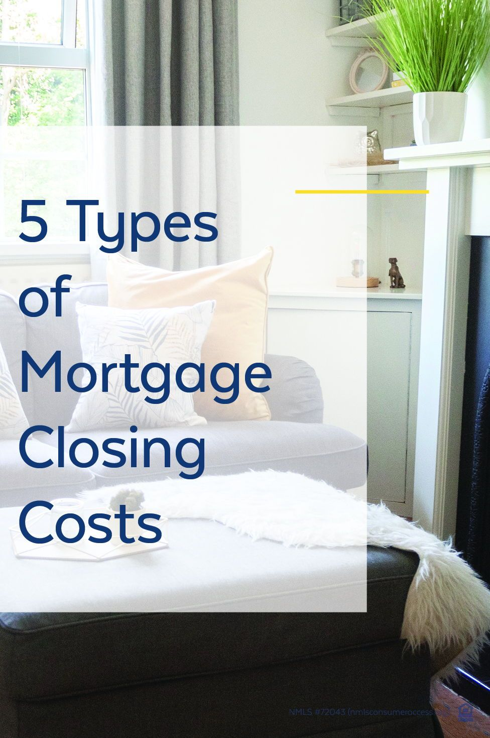 Mortgage closing costs 5 types you need to know in 2020