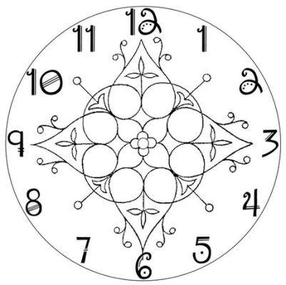 clock face template 1 cross stitch clocks pinterest clothing