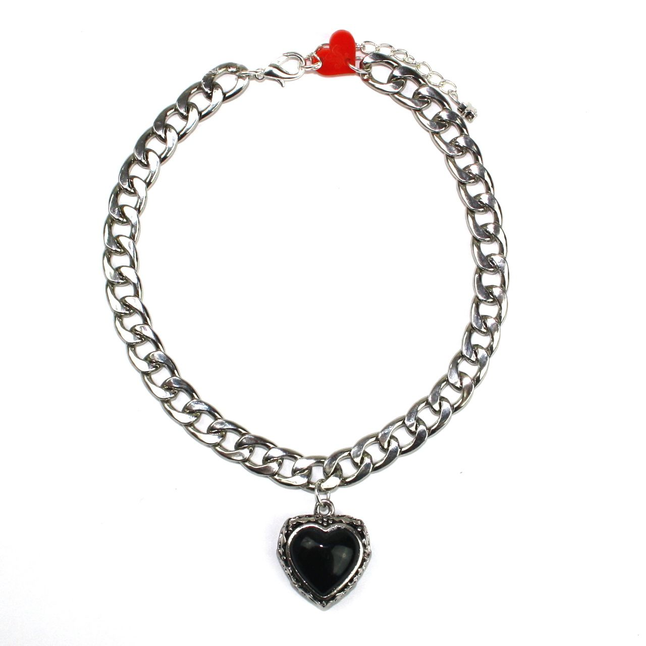 Black Heart Choker - Sour Cherry | Quirky & Kitsch Jewellery & Accessories